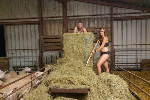 Haute Marne : le nouveau calendrier dénudé des jeunes agriculteurs
