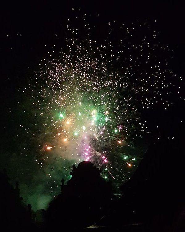 Le feu d'artifice de Rouffach.
