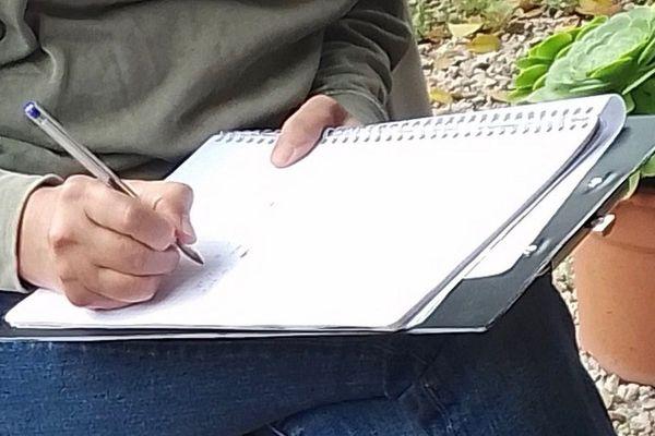 Atelier d'écriture en plein air à Montpellier