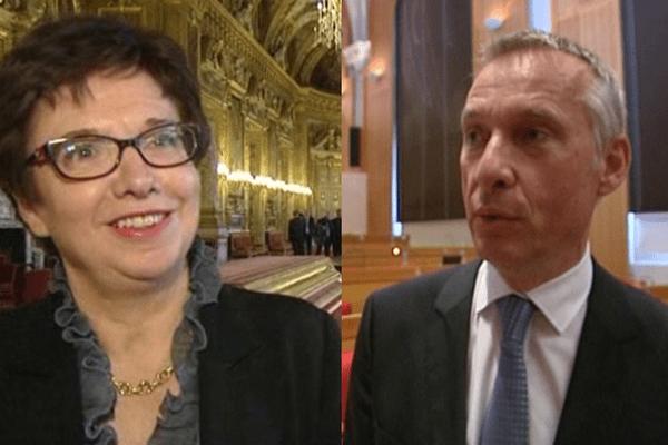 Patricia Bordas et Bernard Combes ont mathématiquement peu de chances d'être élus au Sénat