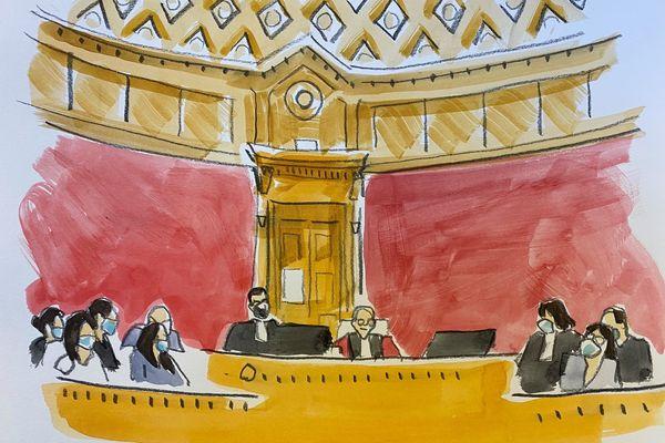 La cour d'assises de Haute-Garonne