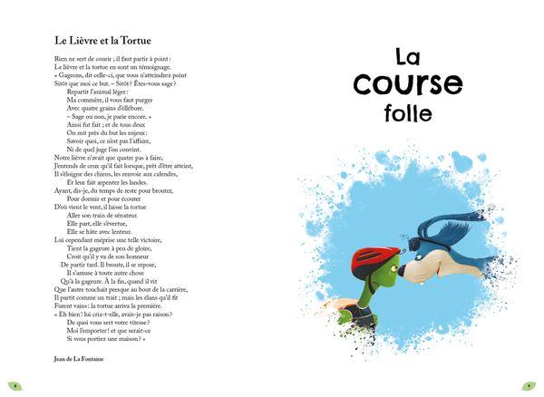 Mes fables de La Fontaine dynamitées de Alexandre Jardin, illustré par Fred Multier