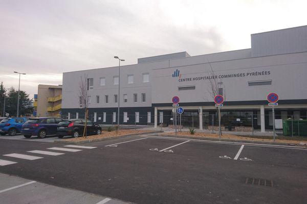 Centre hospitalier Comminges-Pyrénées Saint-Gaudens en Haute-Garonne.
