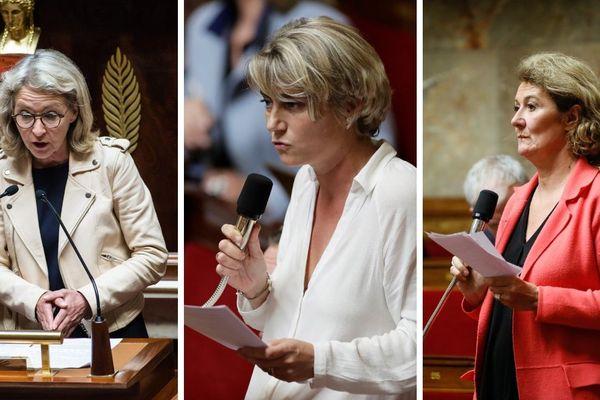 Laure de la Raudière (LR), Stéphanie Rist (LREM) et Sophie Auconie (UDI), ont répondu à nos questions.