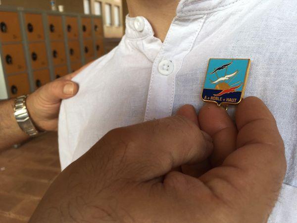 Dix jeunes autistes qui viennent d'intégrer l'Ecole des pupilles de l'air ont reçu leur insigne.