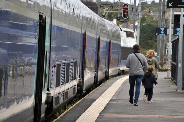 Le trafic du TGV Atlantique perturbé