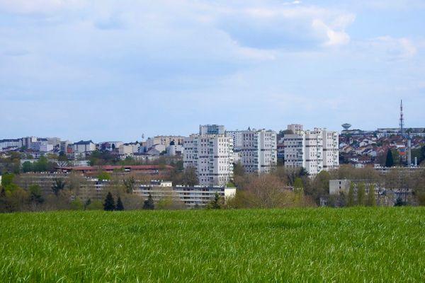 Le quartier du Val de l'Aurence à limoges