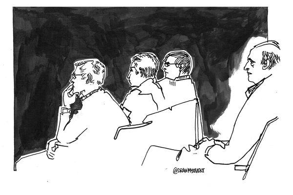 Depuis le début du procès, les audiences se tiennent dans un silence quasi absolu.