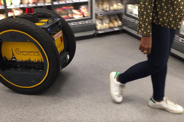 Le robot va être expérimenté dans un supermarché du XIIIe arrondissement de Paris.