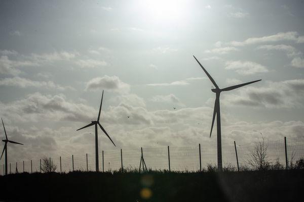 Des éoliennes, image d'illustration.