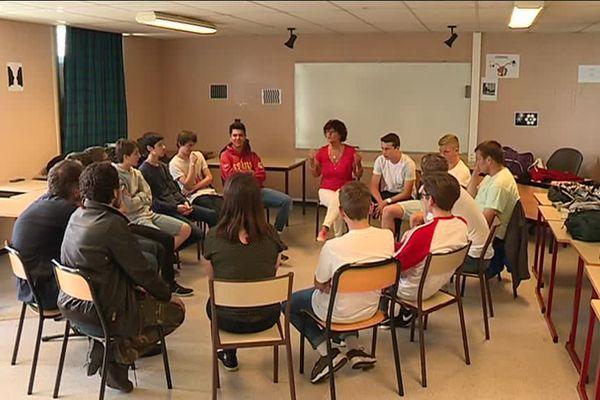 L'éducation à la sexualité au lycée Nelson Mandela de Poitiers