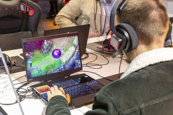 Les événements d'E-sport - pour sport électronique - se popularise dans toutes les régions. Paris, 29 octobre 2019.