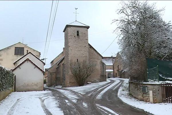 La commune d'Orret est située dans le Châtillonnais, en Côte-d'Or