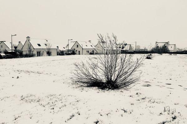 Neige à Plouguerneau