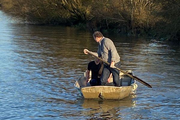 Sauvetage en Loire, au Pellerin