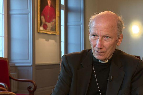 Pierre d'Ornellas, archevêque de Rennes, Dol et Saint-Malo s'exprime sur las abus sexuels dans l'Eglise