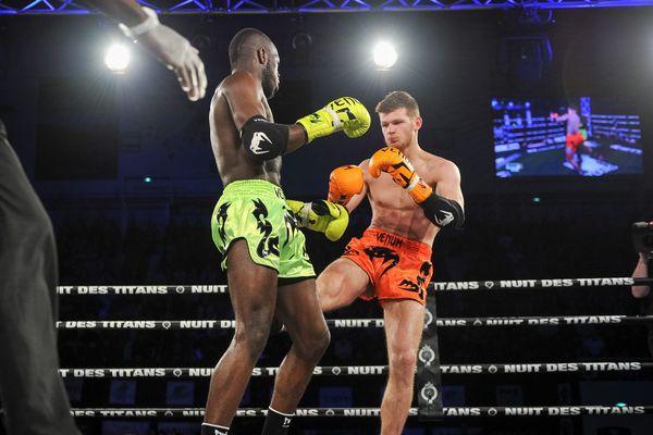 Le boxeur thaï de Montpellier, Jimmy Vienot, était hier à l'Elite War Night à la Grande-Motte.