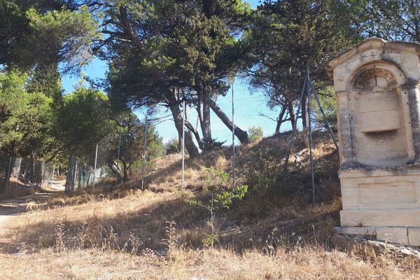 Gard - Les corps ont été retrouvés vers la montée du Calvaire, à Beaucaire, vers 22h, le 2 août 2019.