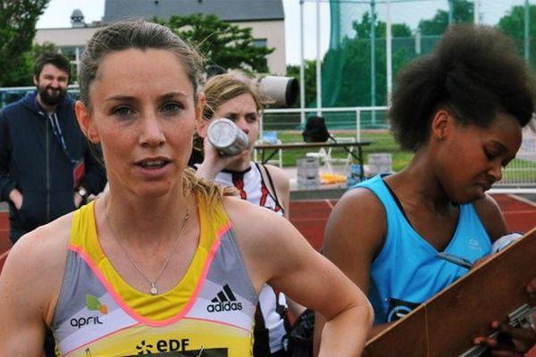 Marie-Amélie Le Fur a profité du meeting pour battre le record du monde du saut en longueur de sa catégorie