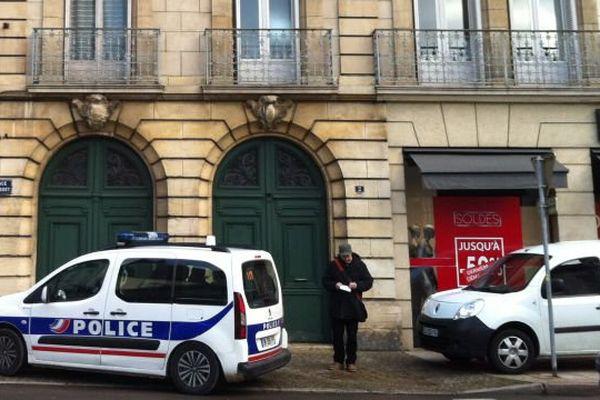 Un jeune homme et une jeune femme ont été retrouvés morts dans le centre-ville de Dijon vendredi 29 janvier 2016.