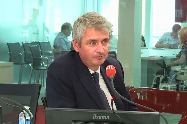 Emmanuel Besnier, le PDG de Lactalis, au micro de RTL le 5 juin 2018