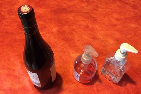 Une fois distillés, les excédents de vin de 2019 pourraient se transformer en gel hydroalcoolique.