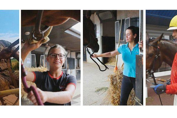 Courses Hippiques : Quand 4 jeunes apprentis jockeys rêvent de gloire