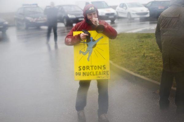 Le projet Cigeo, installé à 30 kilomètres de Gudmont-Villiers, a donné lieu à de nombreuses manifestations.
