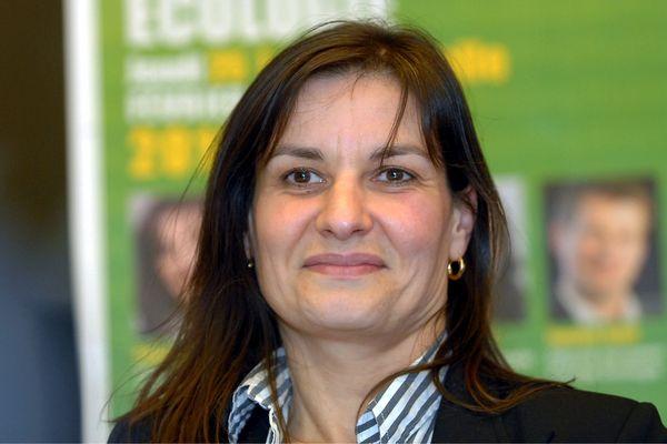 ILLUSTRATION - Françoise Coutant lors d'un meeting à Niort en 2010.