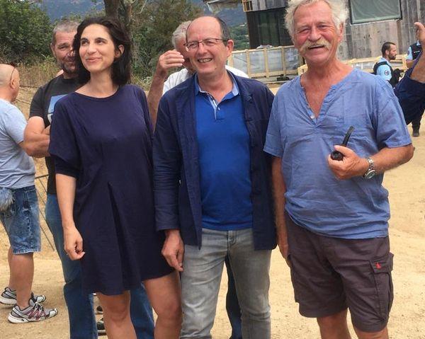 Aux côtés de Serena Battestini et Paul-Félix Benedetti, l'ex-député européen José Bové s'est mêlé aux manifestants.