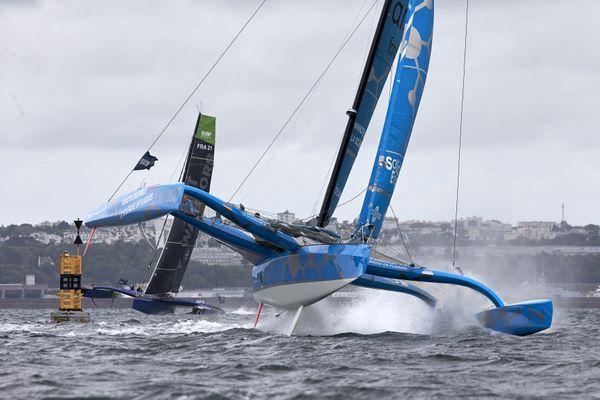 Brest avait réservé des conditions plus que musclées pour la première étape du Pro Sailing Tour