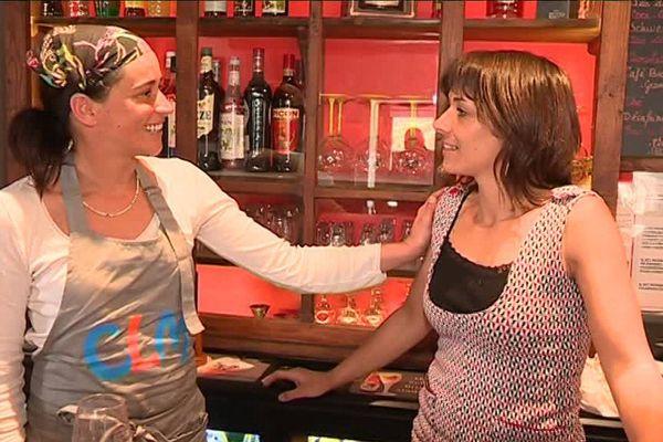 Après 9 mois de travaux, Magalie et Laurette ont redonné vie au seul café du village