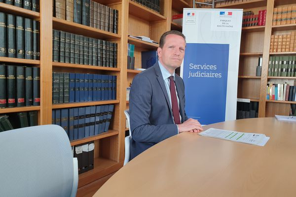 Emmanuel Dupic, le Procureur de la République de la Haute-Saône a tenu une conférence de presse.