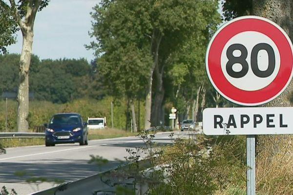 Le retour aux 90 km/h sur les routes de la Manche n'est plus d'actualité.