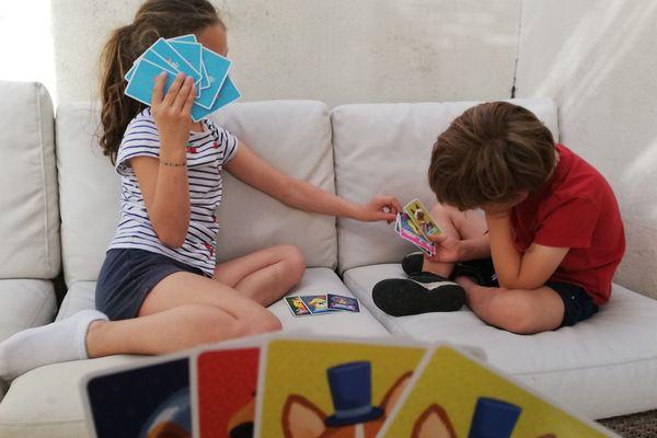 Lily et Sacha ont apprécié ce temps passé avec les parents. Même si Sacha aurait voulu plus profiter du soleil... mais il y avait l'école à la maison.