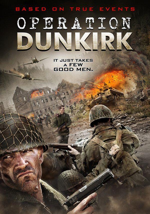 """Des casques de soldats américains pour... l'Opération Dynamo. L'affiche de """"Operation Dunkirk""""."""