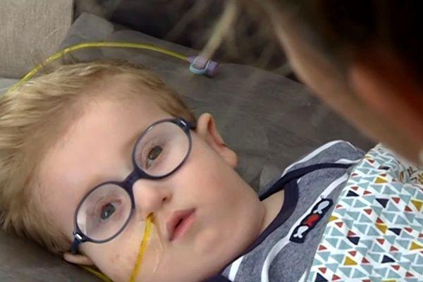 Noé, atteint du syndrome de Zellwegger, est décédé le 23 novembre 2019