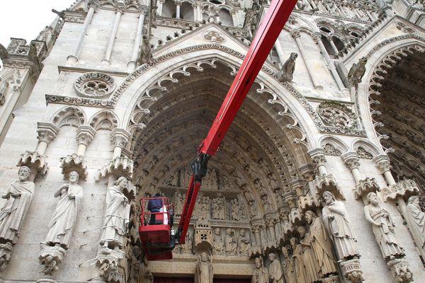 Le chantier de la nef sud s'est achevé dans les temps, après quatre ans de travaux.