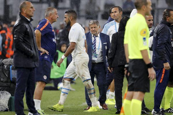 Après le carton rouge lors du match OM-Montpellier, le meneur de jeu olympien écope de quatre matchs de suspension.