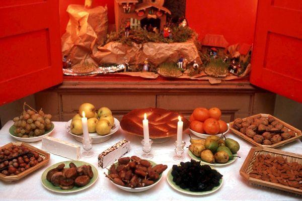 Les treize desserts de Noël, une tradition typiquement provençale.