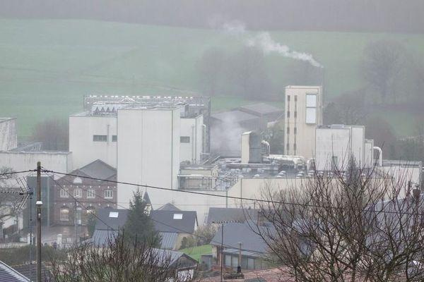 L'usine Ferrero de Villers-Ecalles stocke 900 tonnes de cacao.