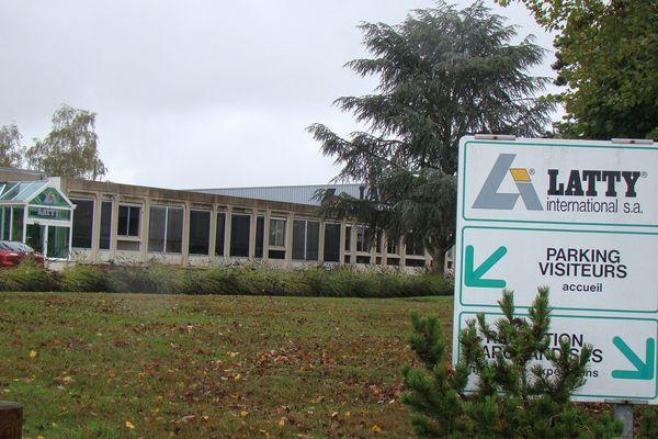 Les locaux de la société Latty International à Brou en Eure-et-Loir (Illustration - Archives 2009)