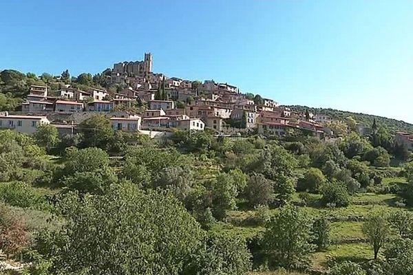 Eus (Pyrénées-Orientales) - l'un des premiers plus beaux villages de France - juin 2017.