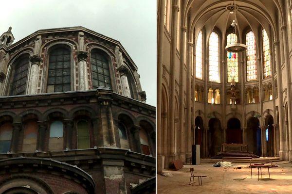La chapelle Saint-Joseph a été construite à la fin du 19e siècle sur le site universitaire de la Catho.