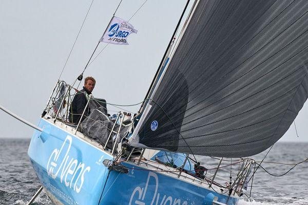 Le Dunkerquois Thomas Ruyant participait l'année dernière à la Course du Figaro.