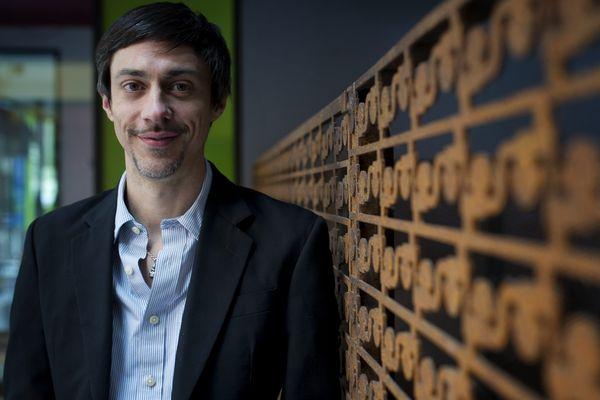 Adrien Poggetti, directeur délégué de Nantes Tech, juste avant le Web2day 2015.