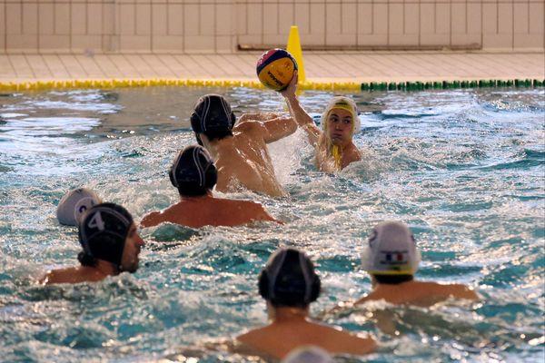 Water-polo, team de Strasbourg contre CNM Marseille