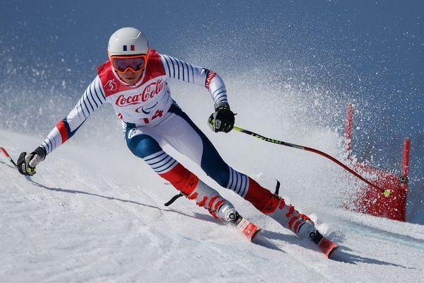 Arthur Bauchet aux jeux d'hiver paralympiques à Pyeongchang, le 11 mars 2018