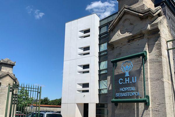 Le CHU Sébastopol, où est hospitalisé Vincent Lambert, ce mardi 2 juillet