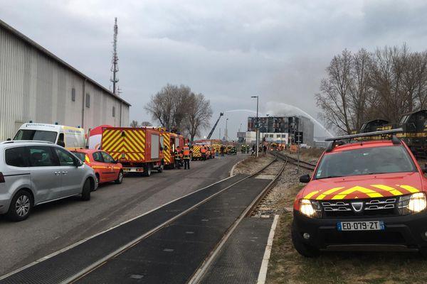 Les pompiers ont été appelés à 00h42 mercredi matin